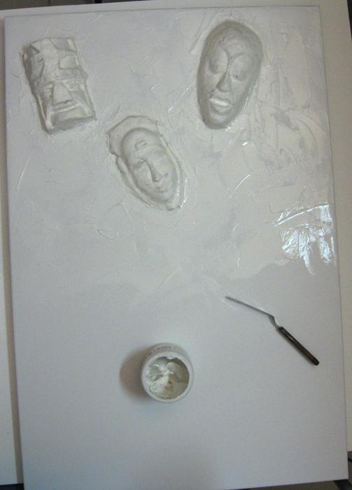 Hidden - molding paste