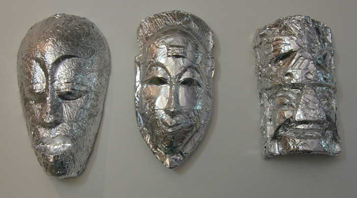 Hidden - wrapped masks