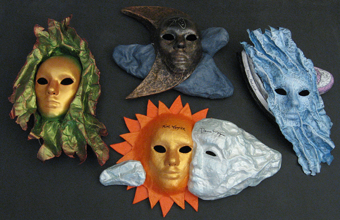 Four Masks 700px