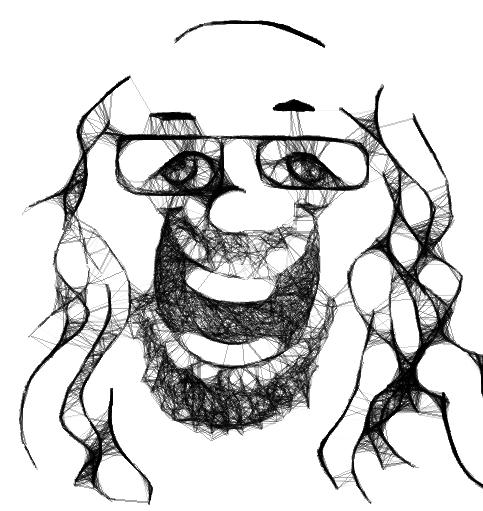 Dons Scribbler Portrait 091410