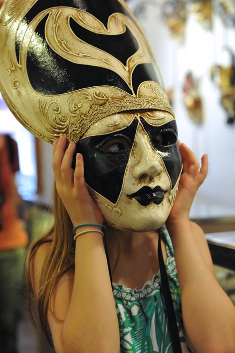 Masked Lovely