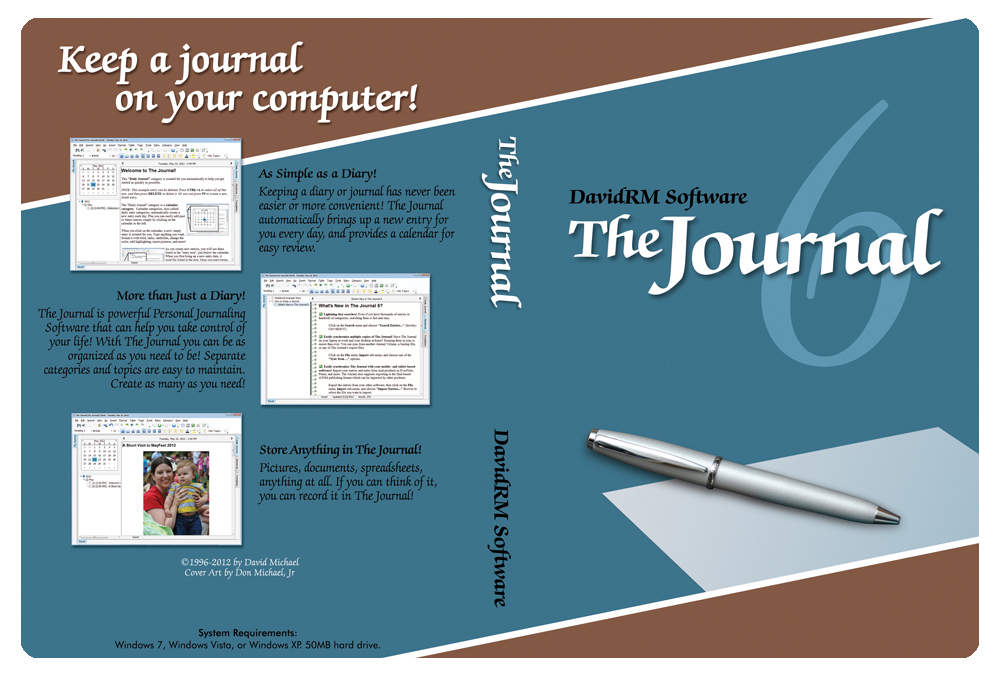 personal journaling software