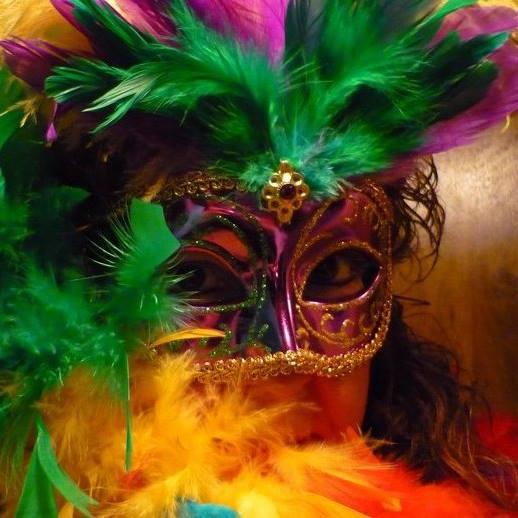 Mardi Gras mask - ala Tracy Friberg