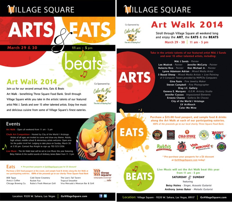 Arts Eats n Beats poster