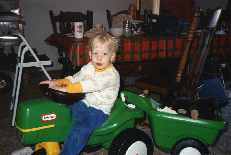 Donald n New Tractor - Christmas 90-lo res